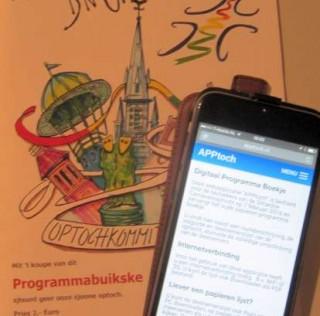 Programmaboekje; digitaal of op papier