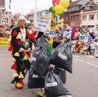 Lou Cremers loopt in 2016 de 55e optocht mee