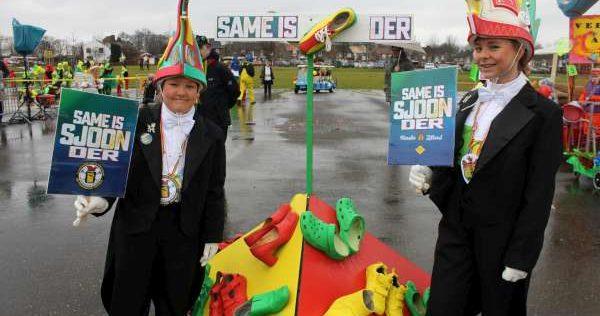 Wie bouwt het mooiste Carnavals-karretje in de Sittardse Kinderoptocht?
