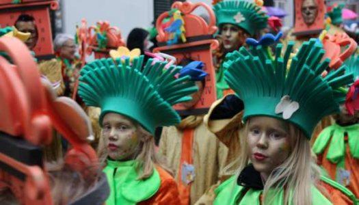Kinderoptocht in Sittard, aftrap van de carnavalsdagen